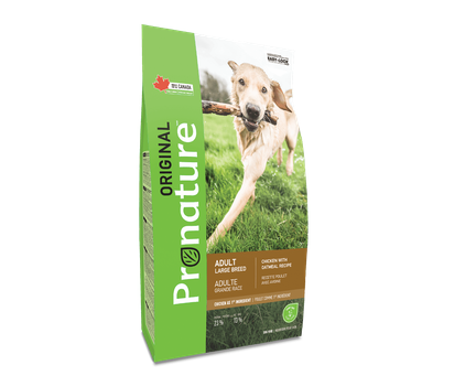 #MC0002 Pronature Original Chien grande race Poulet & avoine