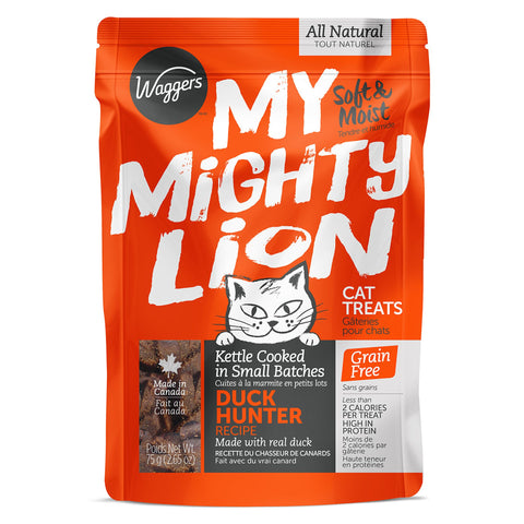 #CN0061 Gâterie pour chat au Canard MY MIGHTY LION