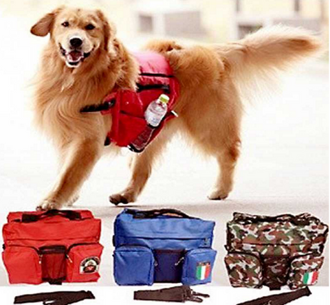 #PET0002 Dog Backpacks / Sac à dos pour chien