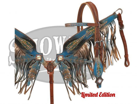 #HE0426 Headstall set / Ensemble de bride SHOWMAN
