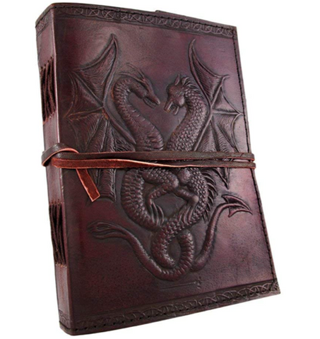 #LC0022 Dragon note book / Livre de noter dragon
