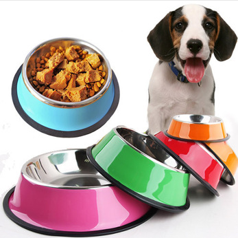 #PET0020 Stainless Steel Pet Bowl / Bol en stainless