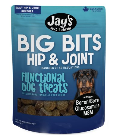 #PET0341 Dog treats Hip & Joint / Gâteries chien Hanche t articulations JAY'S TID BITS