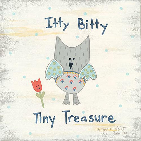 """BEETLE & BOB ITTY BITTY TINY TREASURE"" Art Print-Framed- Plaque"