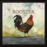 """ RALEIGH THE ROOSTER "" Art Print-Framed- Plaque"