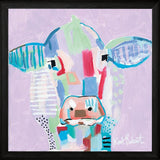 """ MOO SERIES: TILLY "" Art Print-Framed- Plaque"