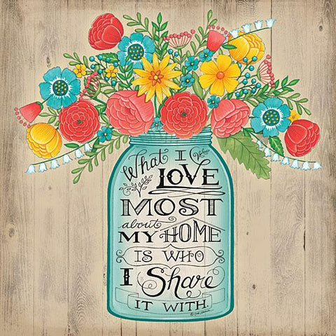 """WHAT I LOVE MOST"" Art Print-Framed- Plaque"