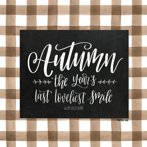 """AUTUMN"" Art Print-Framed- Plaque"