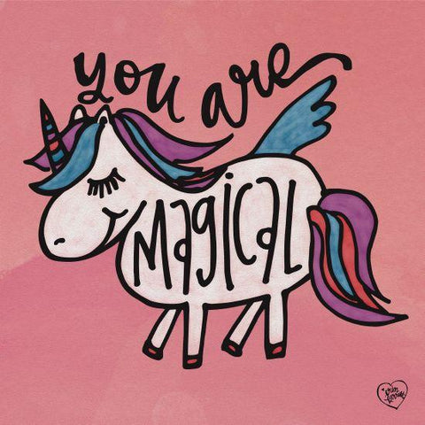 """YOU ARE MAGICAL"" Art Print-Framed- Plaque"
