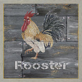 """ ROOSTER "" Art Print-Framed- Plaque"
