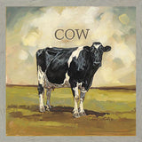 """ COLBY THE COW "" Art Print-Framed- Plaque"