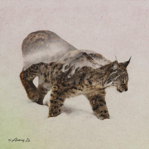 """LYNX - NORTH"" Art Print-Framed- Plaque"