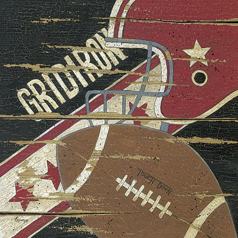 """GRIDIRON"" Art Print-Framed- Plaque"