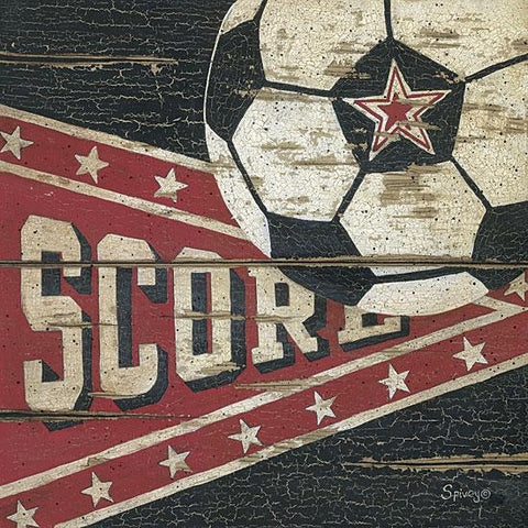 """SCORE"" Art Print-Framed- Plaque"