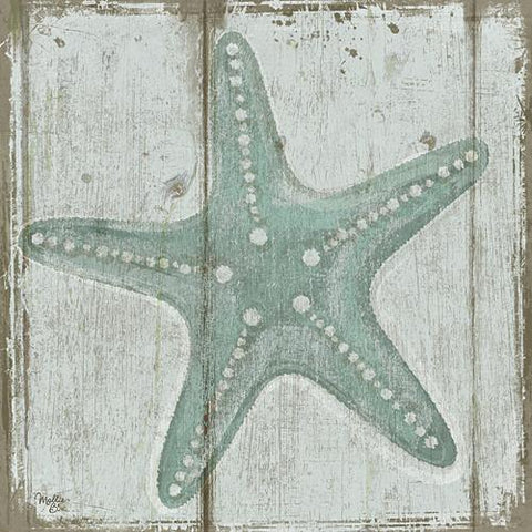 """STARFISH"" Art Print-Framed- Plaque"