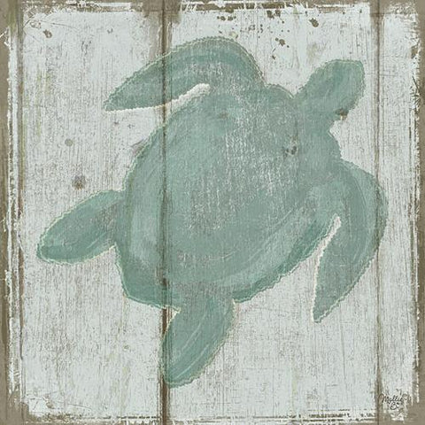 """TURTLE"" Art Print-Framed- Plaque"