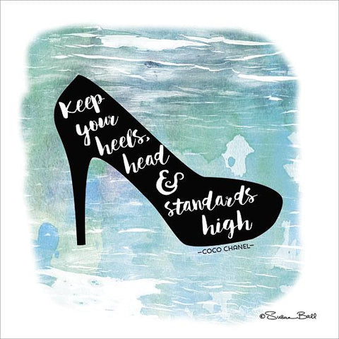 """KEEP'EM HIGH"" Art Print-Framed- Plaque"