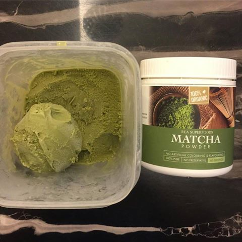 rea superfoods matcha ice cream