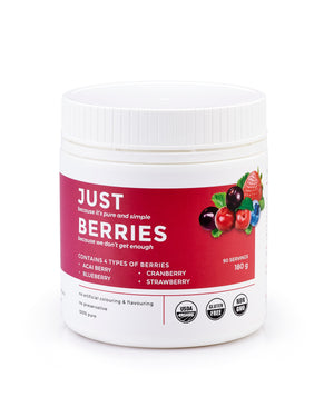 Just Berries 180gm