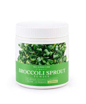 Organic Broccoli Sprout Powder 120gm