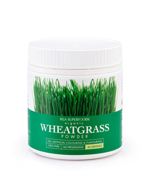 Organic Wheatgrass Powder 120gm