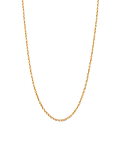 Rope Choker / 18k Gold Plated