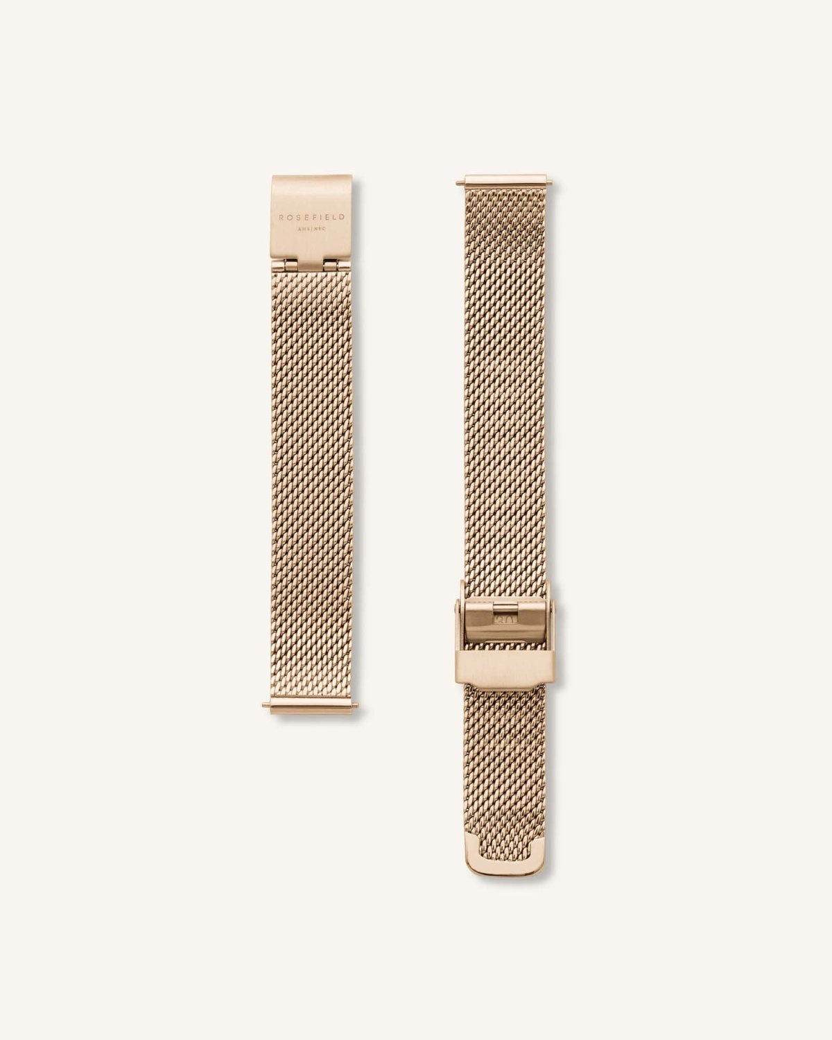 XS Boxy Watch / Gold Mesh