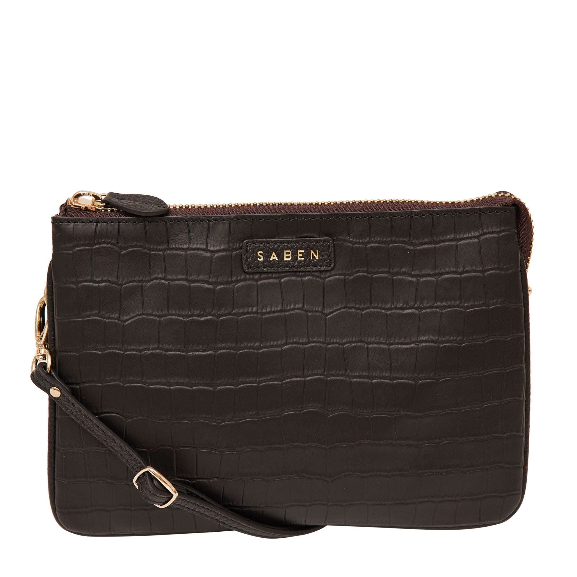 Tilly's Big Sis Bag / Black Croc