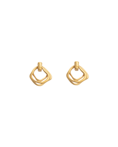 Botanica Earrings / 18K Gold Plated