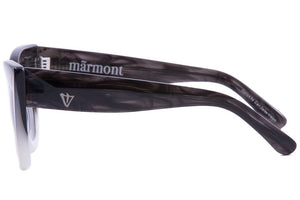 Marmont / Coal Black Fade to White