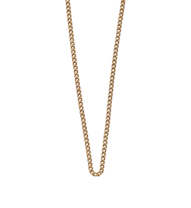 Curb Chain / Gold Plated