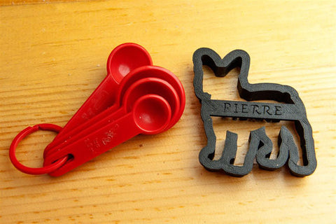 FRENCH BULLDOG Personalized Cookie Cutter
