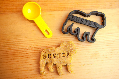 BULLDOG Personalized Cookie Cutter