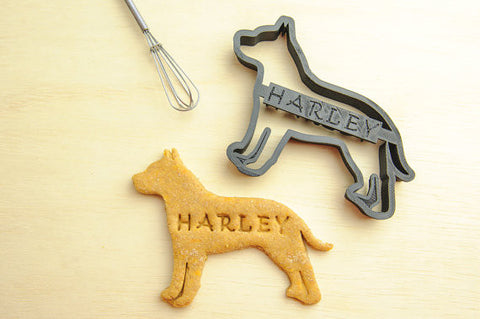 PIT BULL Personalized Cookie Cutter