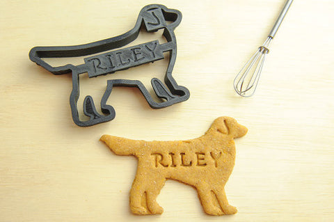 GOLDEN RETRIEVER Personalized Cookie Cutter