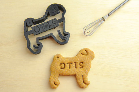 PUG Personalized Cookie Cutter