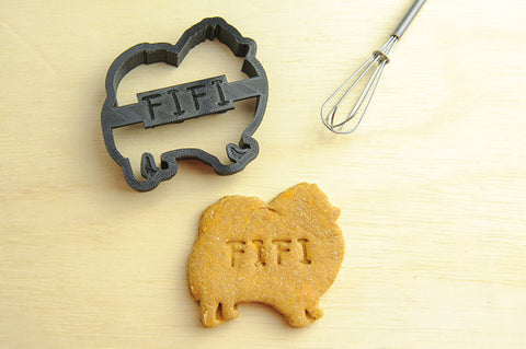 POMERANIAN Personalized Cookie Cutter
