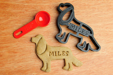 CAVALIER KING CHARLES Personalized Cookie Cutter