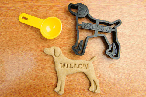 WEIMERANER Personalized Cookie Cutter