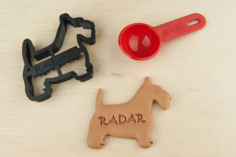 SCOTTISH TERRIER Personalized Cookie Cutter