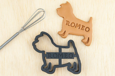 WESTIE Personalized Cookie Cutter