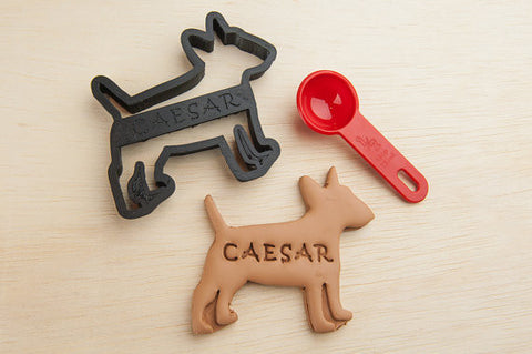 BULL TERRIER Personalized Cookie Cutter