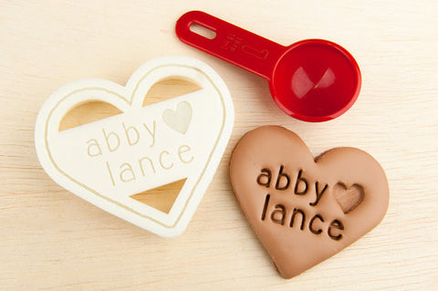 Heart Personalized Cookie Cutter