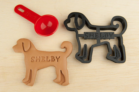 GOLDENDOODLE Personalized Cookie Cutter