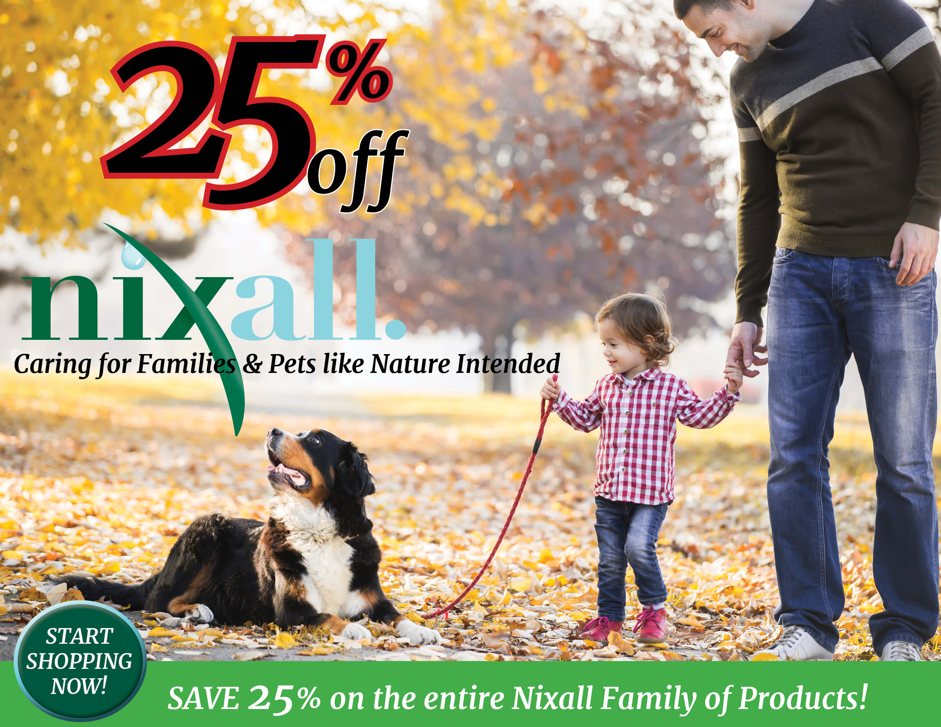 25% OFF Nixall Products