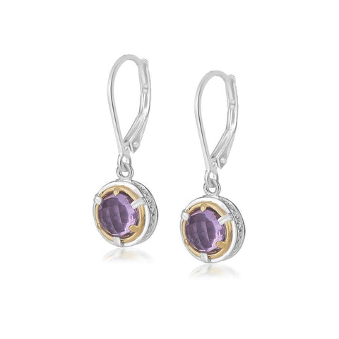 Anna Amethyst Earrings