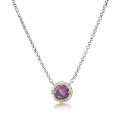 Anna Amethyst Necklace