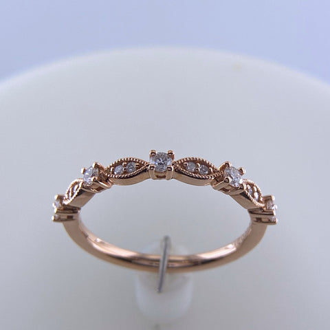 Rose Gold Stacking 'Dainty' Ring
