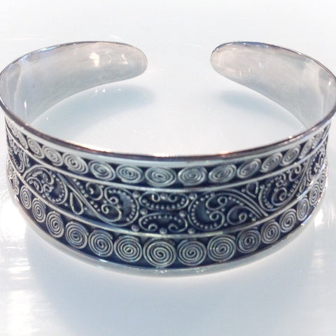Ornate Filigree Bracelet