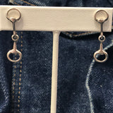 Snaffle Bit Earrings